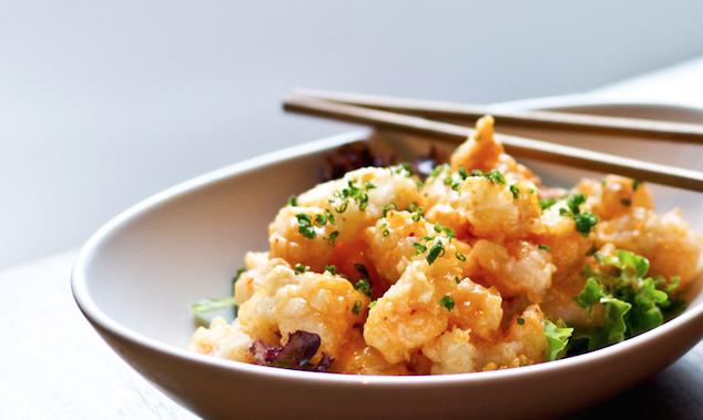 Japanese Popcorn Shrimp Recipe Popcorn Shrimp Recipes Ponzu Recipe