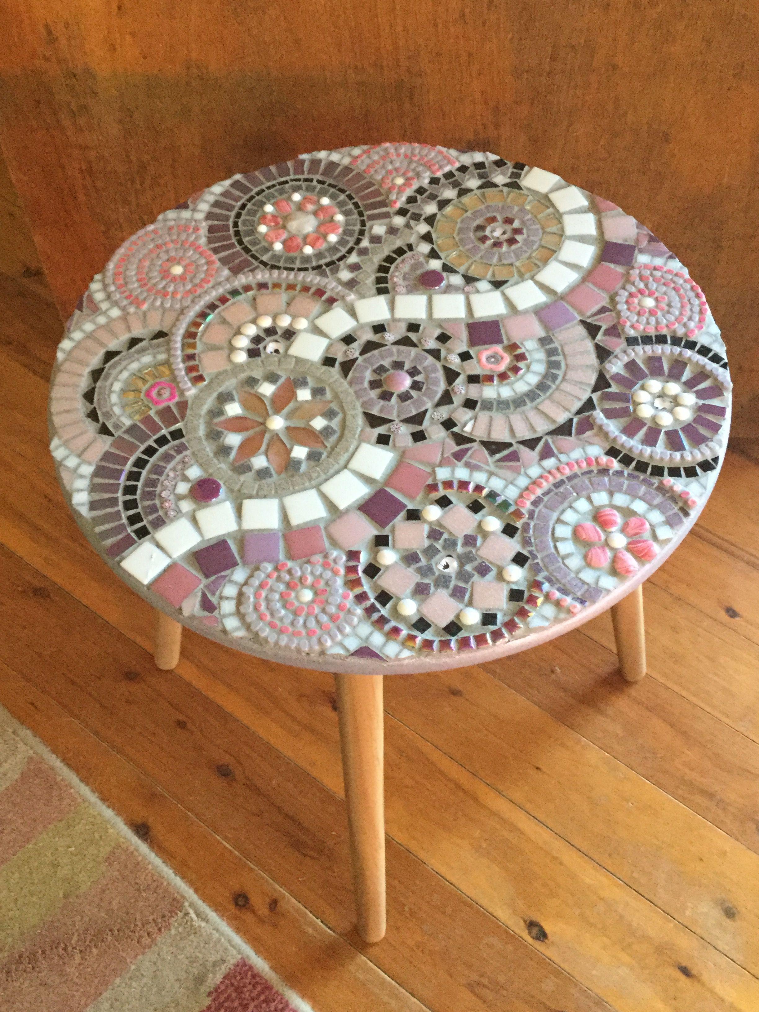 Pastel Table Top Mosaics