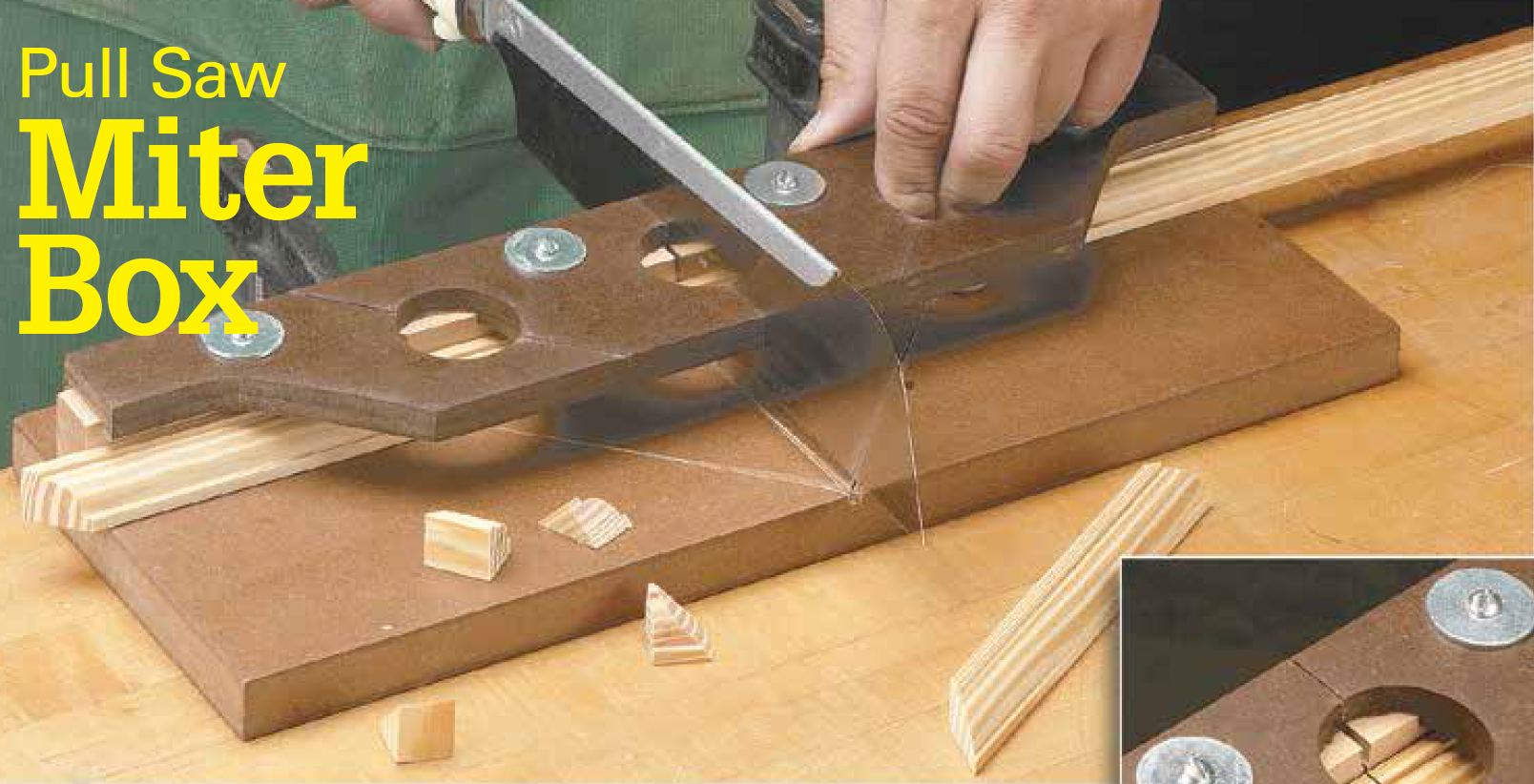 Pull Saw Miter Box Japanese Tools Homemade Tools Woodworking