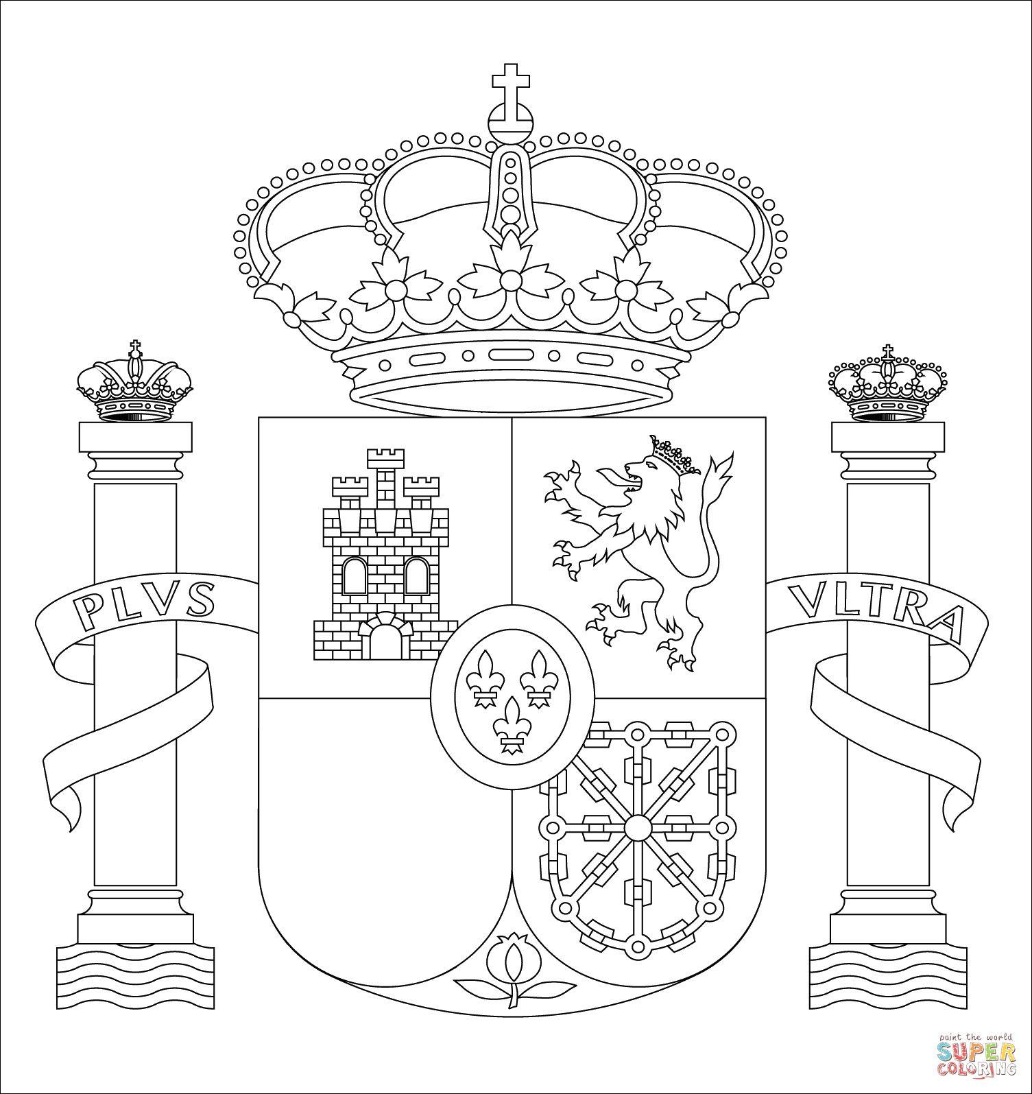 12 Aimable Drapeau Espagne A Colorier Gallery Drapeau Espagne Coloriage Page De Coloriage