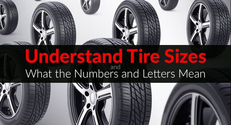 Understanding Tire Sizes Tire Buyers Guide Tired And Cars