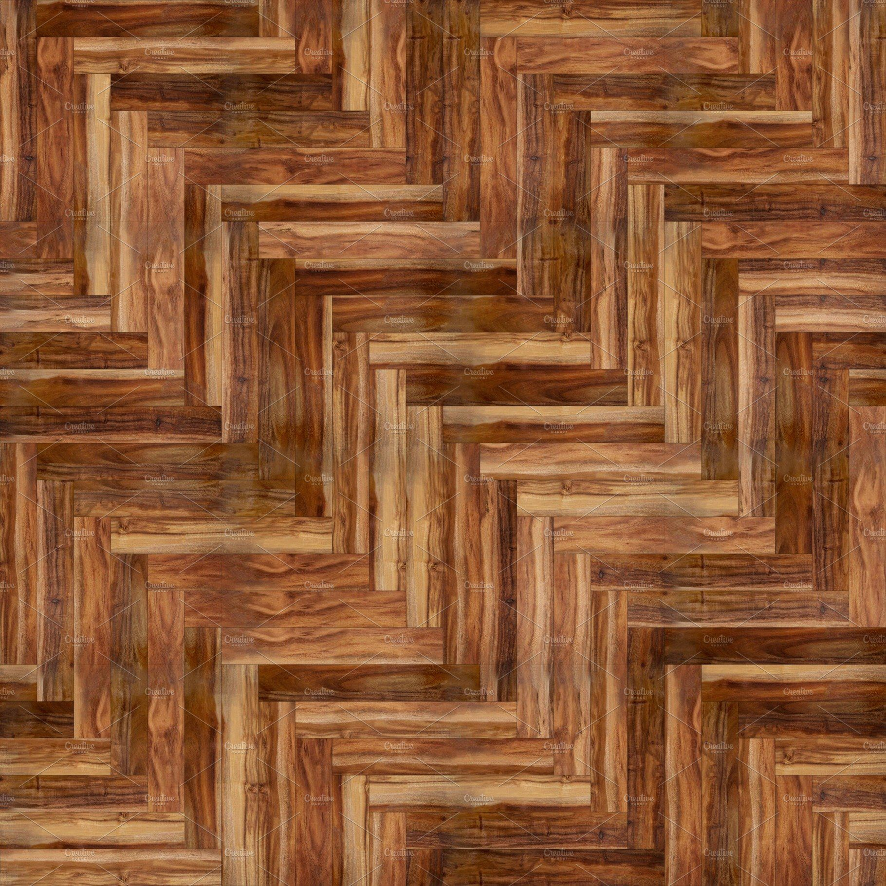 Parquet herringbone natural acacia by rnax on