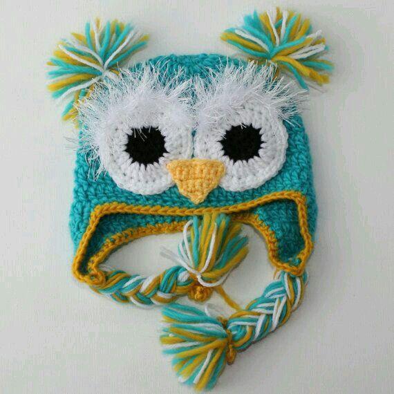 Pin de Vero Davoli en gorros crochet | Pinterest | Gorros crochet y ...