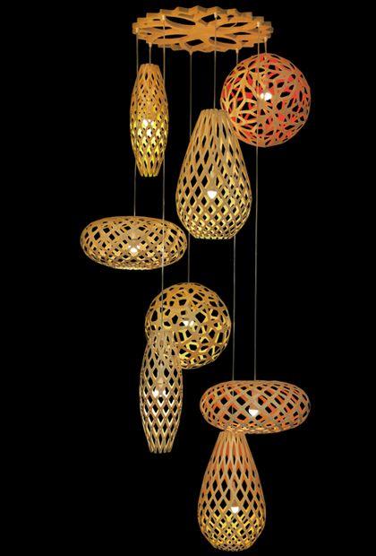 A lovely cascade of Mini Grows #lighting #design #decor #ecoDesign