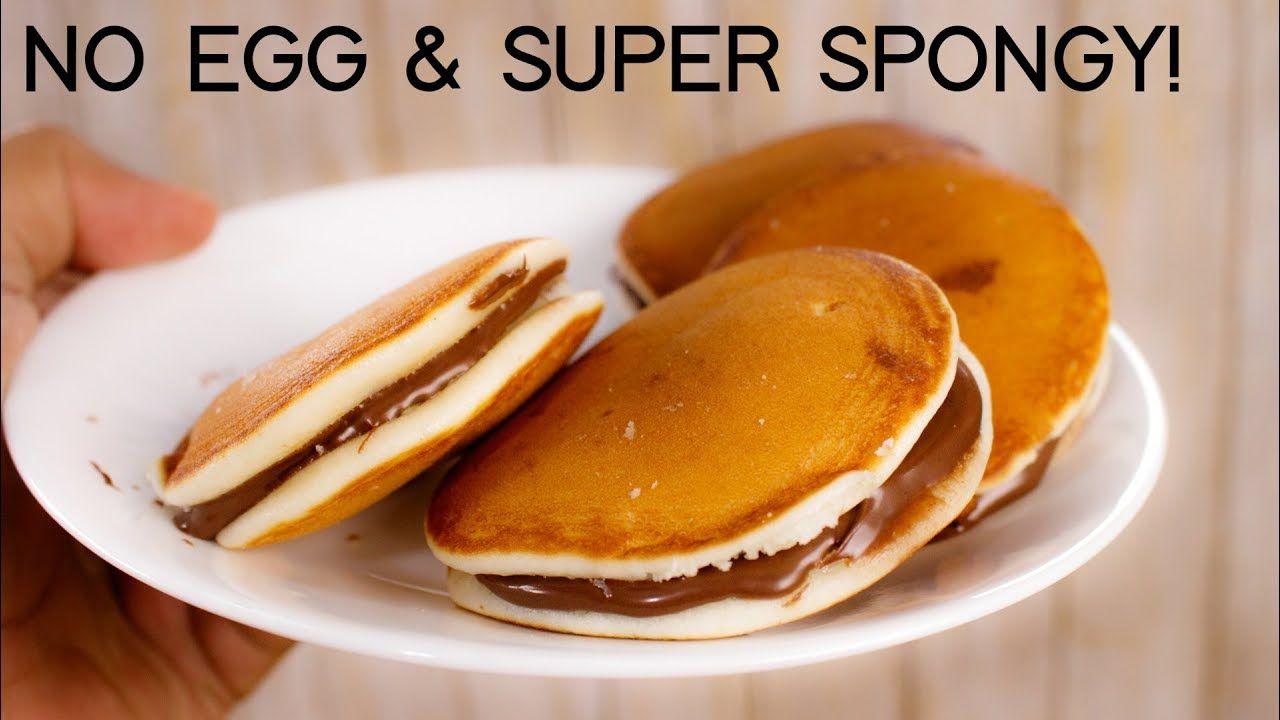 Dora Cake Recipe - Easy No Egg Super Spongy Dorayaki ...