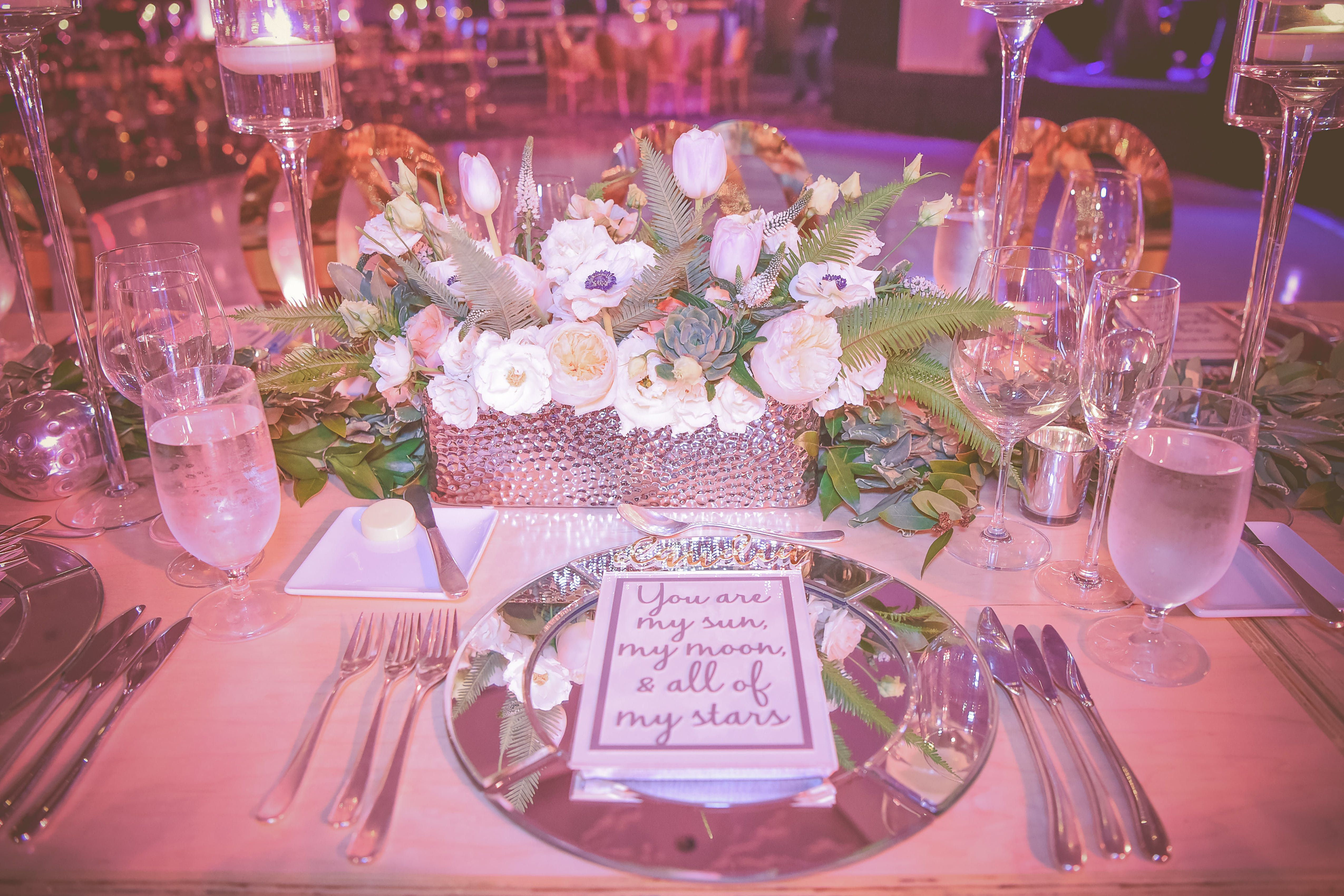 Romantic St Regis Bal Harbour Wedding Party Rentals And Decor By Gilded Group Decor Miami Event Design Miam With Images Wedding Decorations Event Decor Floral Wedding
