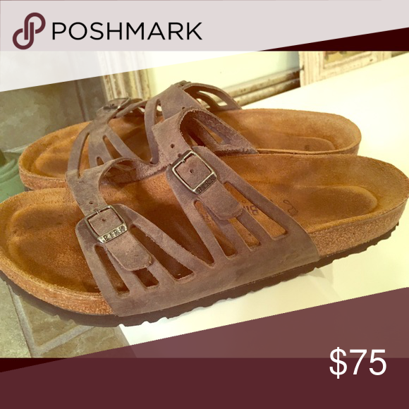 a36ce1c7f598 Birkenstock Grenada. Gray brown color. Worn about 3 times. Smoke-free