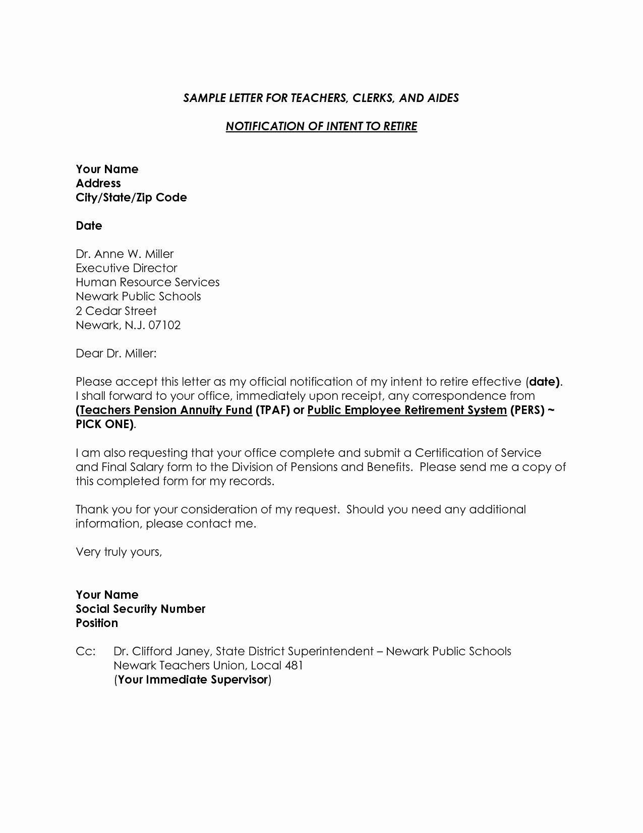 Retirement Letter From Employee In 2020 Letter To Teacher Lettering