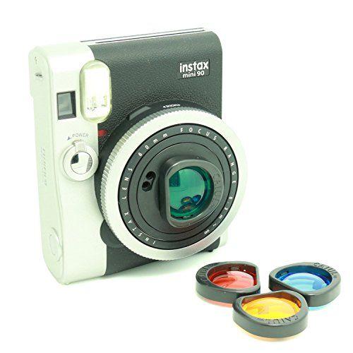 CAIUL Farbfiltern Nahlinse Speziell für Fujifilm Instax Mini 90 CAIUL