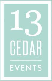 13 cedar events charlotte nc wedding planning