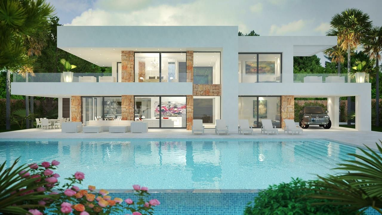 Modern villas for sale luxury contemporary villas and real estate in marbella cannes vilamoura dubai