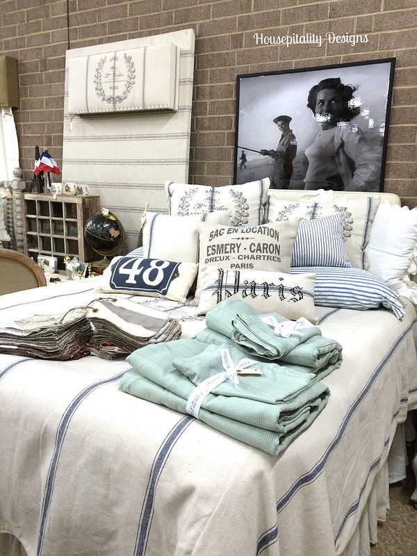 French Laundry Home Grain Sack Bedding Housepitality Designs