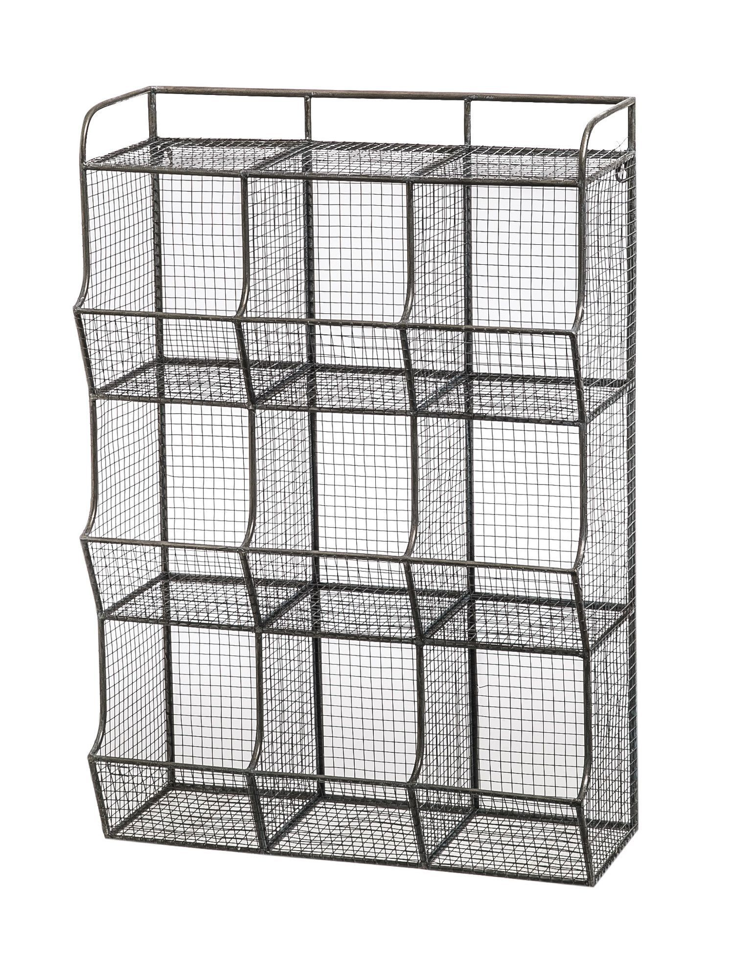 Wire Mesh 9 Bin Cubical Storage | Products | Pinterest | Wire mesh ...