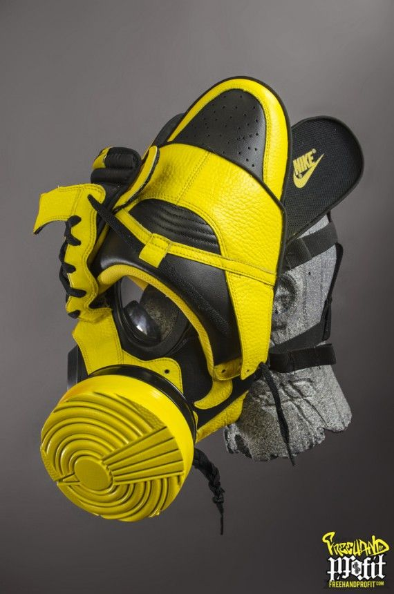 wu tang sneaker gas masks freehand profit 02 570x860 Nike + Air Jordan Wu  Tang Tribute Gas Masks by Freehand Profit bfc68f334