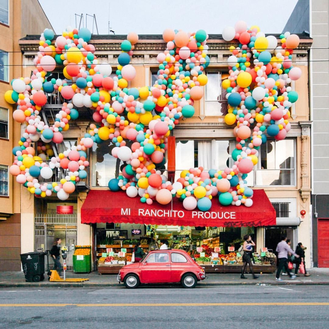 Explore Balloon Installation Geronimo and more See