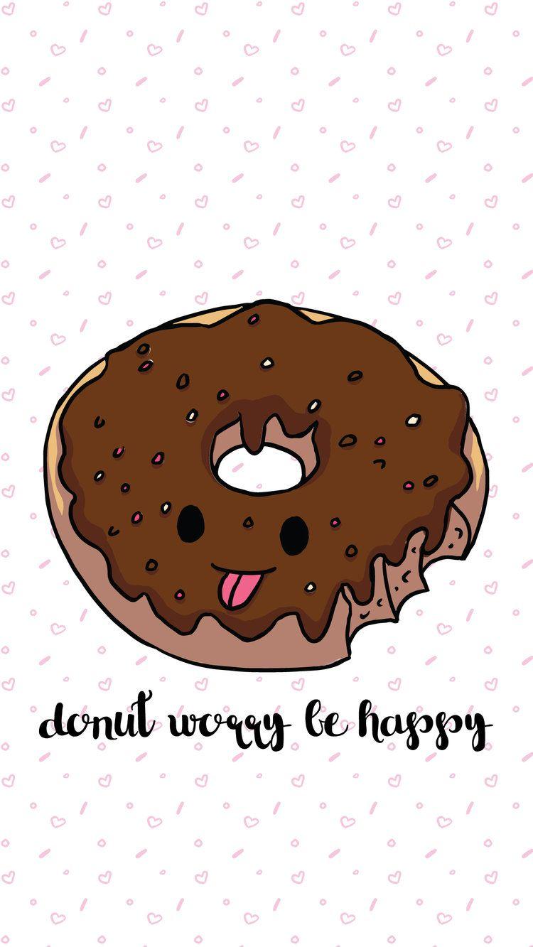 I Donut Care Wallpaper Trio
