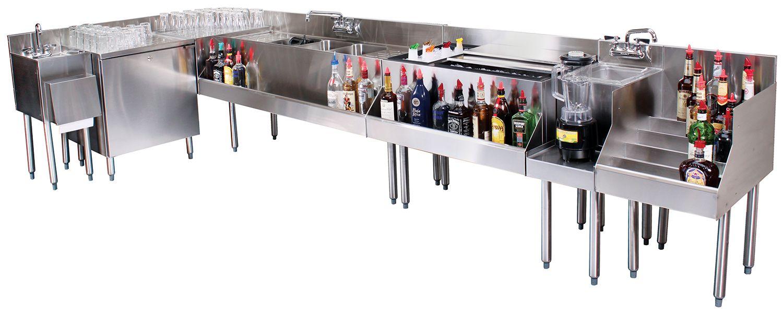 Bar Equipment at it's best   Cafe bar design, Back bar design ...