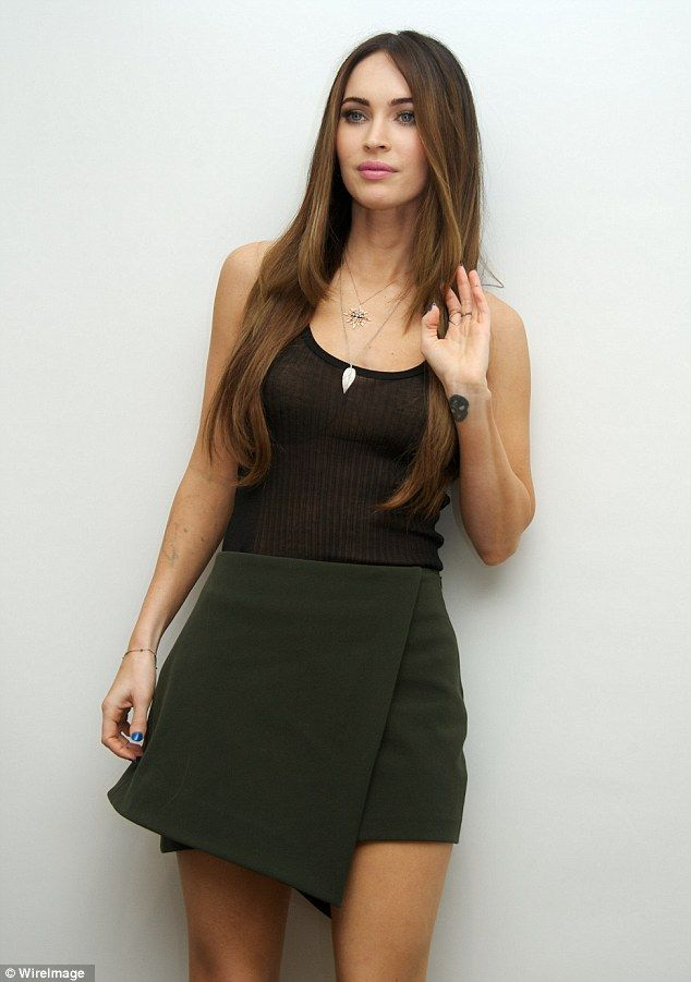 Long Cool Woman In A Black Dress Megan Foxx In 2019 Megan Fox