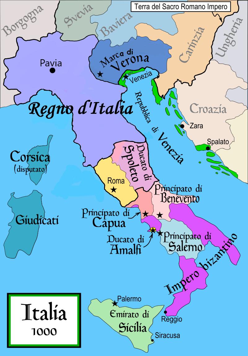 Cartina Italia Occidentale.Pin Su Storia