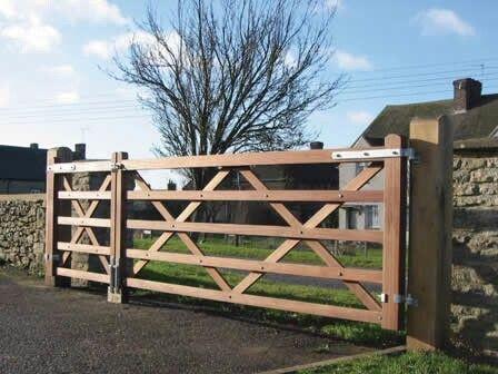 Wood Entry Gate Fence Amp Gate Farm Gate Wooden Farm