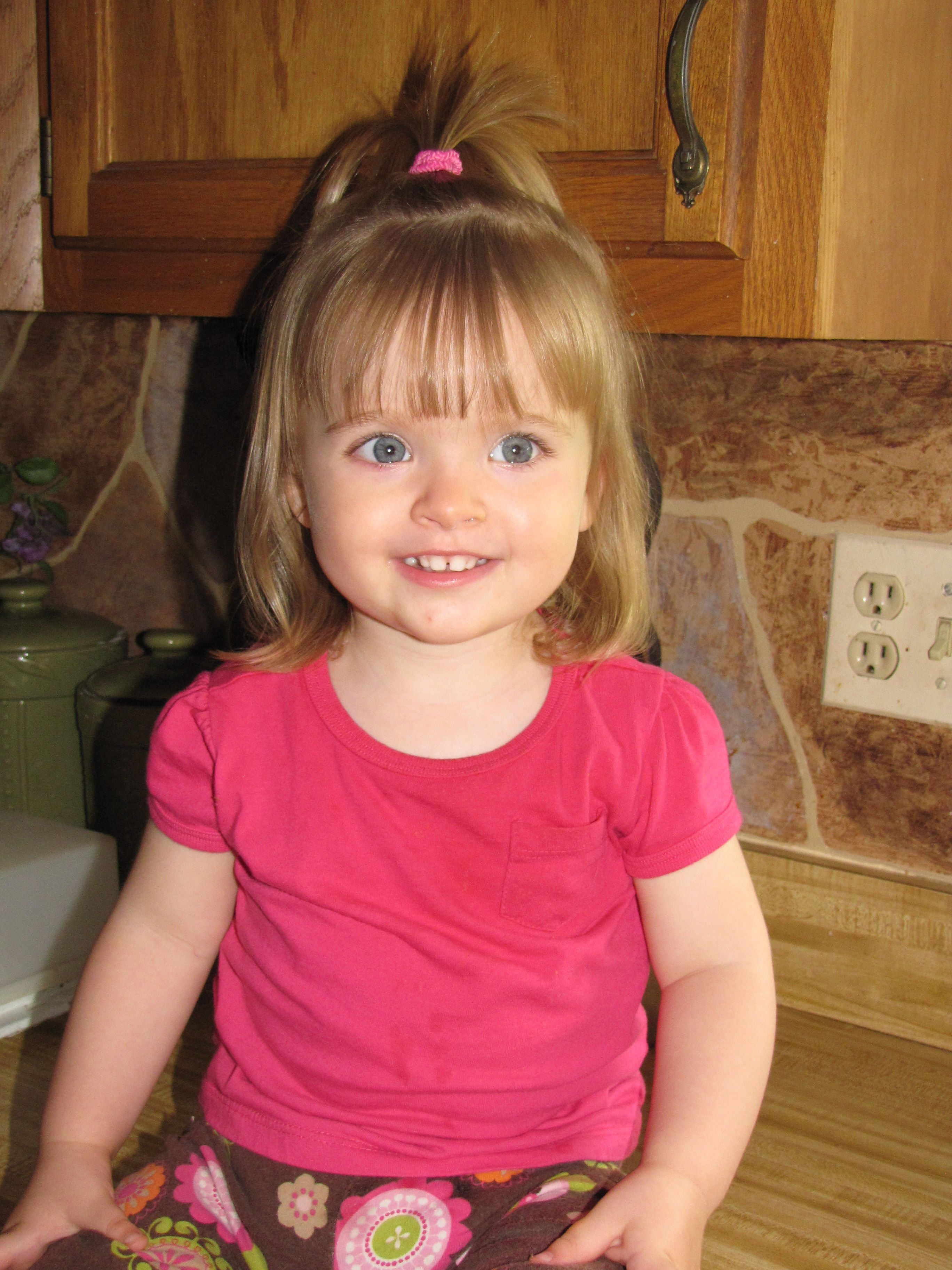 19++ Little girl hairstyles with bangs ideas