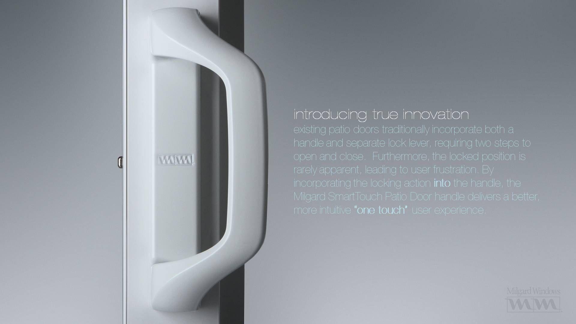 Milgard Sliding Glass Door Handle Lock Glass Doors Pinterest