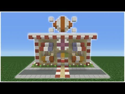 Flower Shop Build Minecraft Pe
