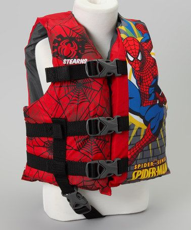 Take a look at this Spider-Man Life Jacket - Kids by Stearns on #zulily today!