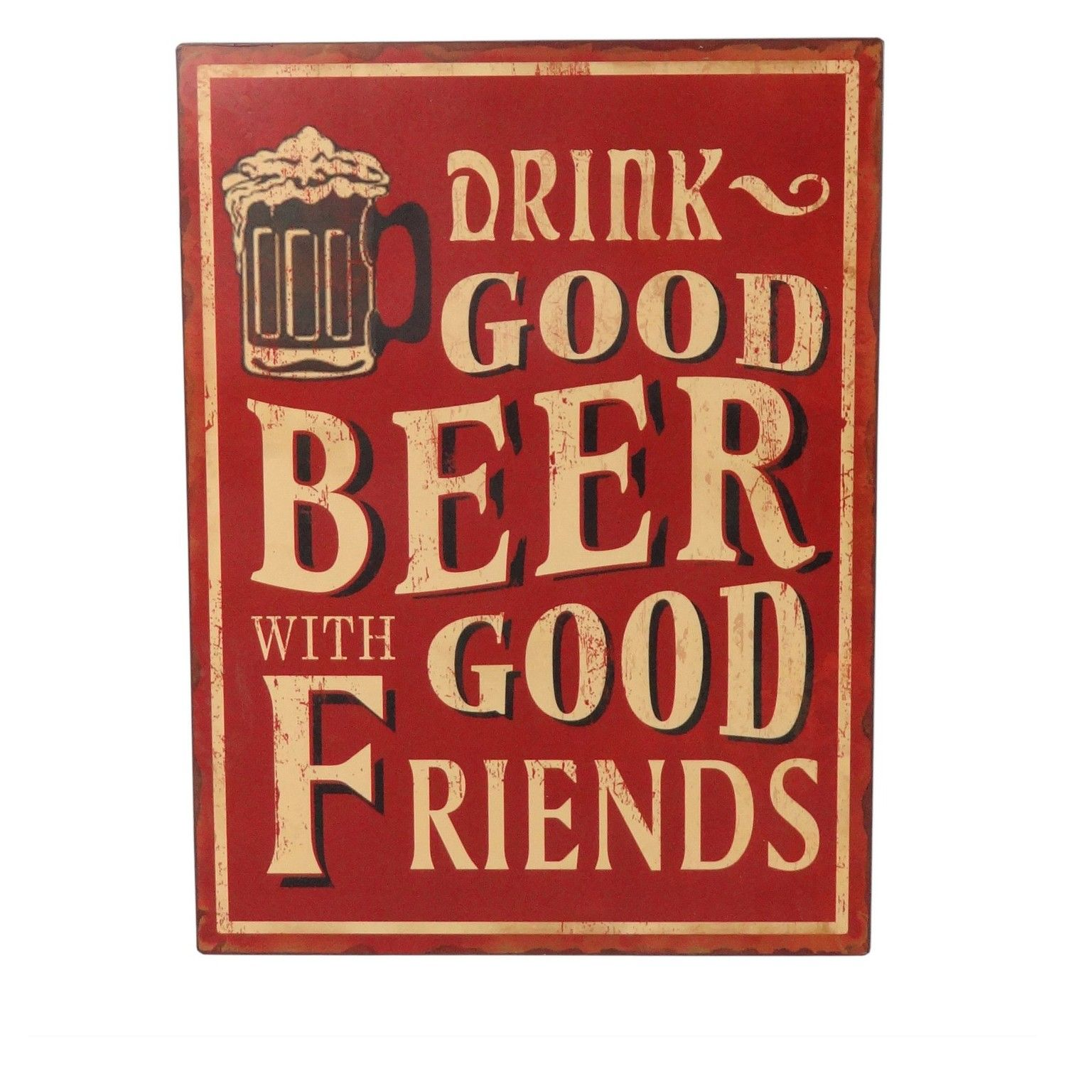 Tin Wall Plaques Beer Slogan Metal Wall Plaques  Home Ideas  Pinterest  Beer