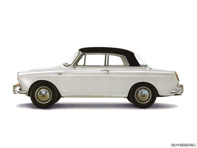 Volkswagen 1500 Notchback Cabriolet Concept 1961 Vw Notchback