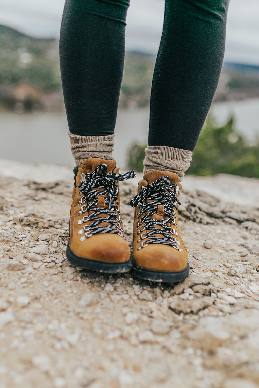 Hiking boots outfit
