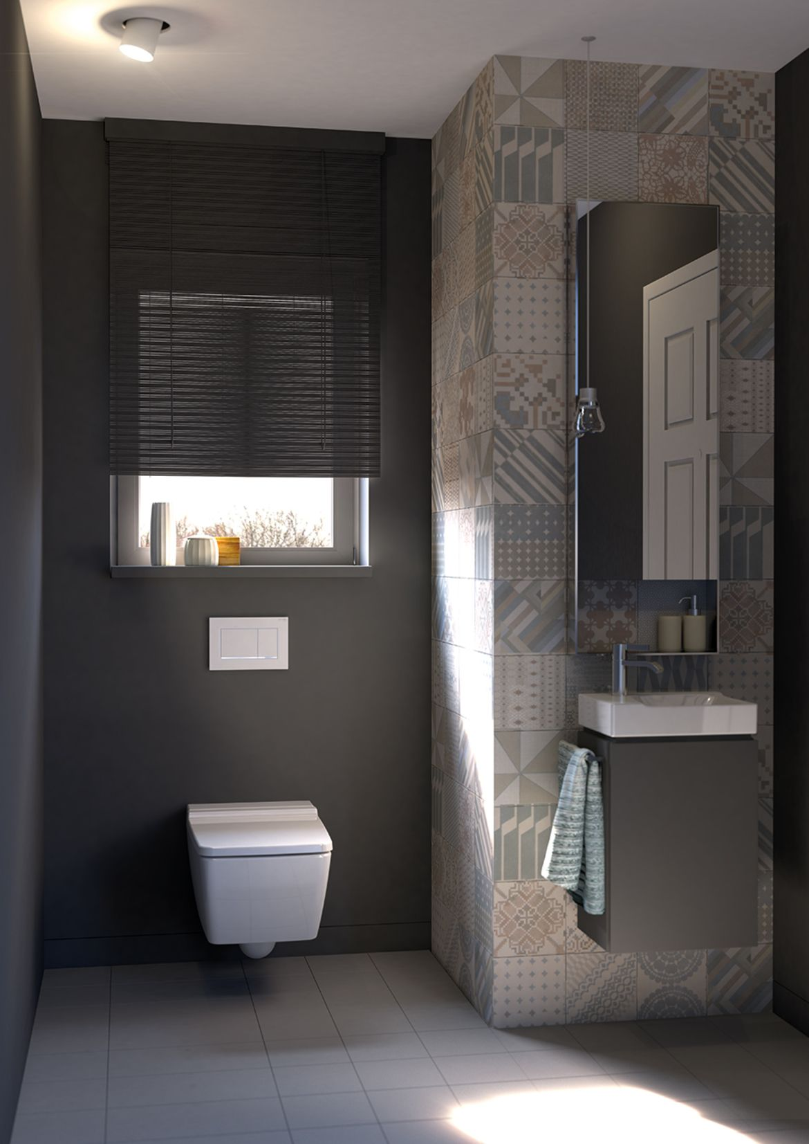 Geberit In Wall Toilet System In Pre Wall Construction With