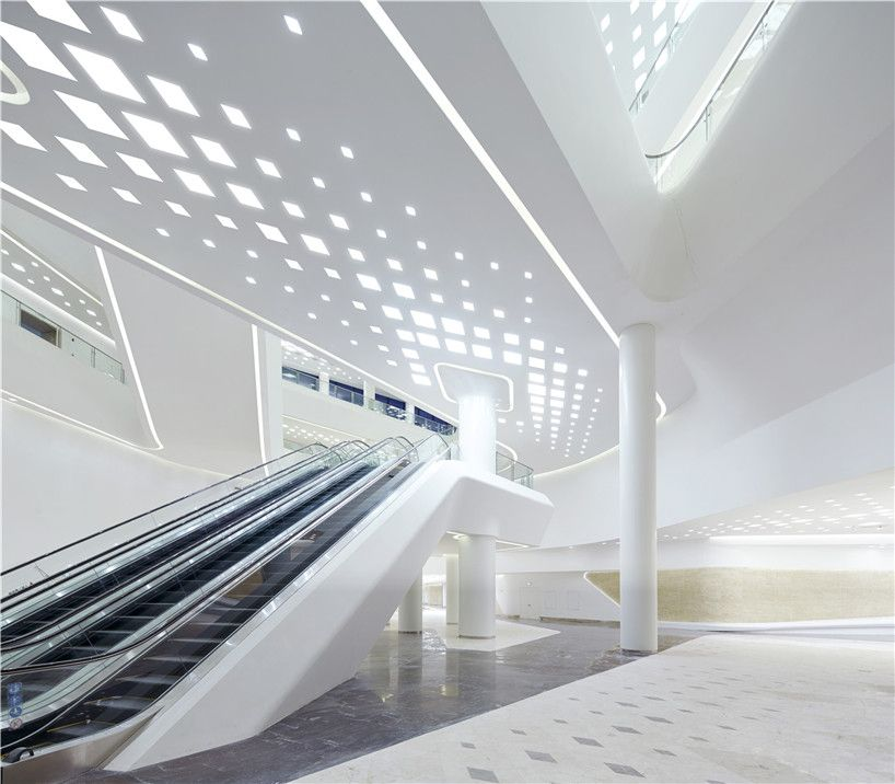 Nanjing international youth cultural centre zaha hadid gd for Interior design zaha hadid