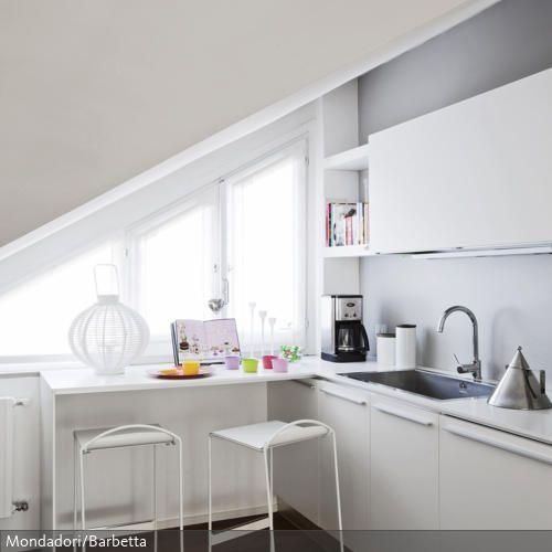 Kleine Küchen sind ein Problem, das vor allem in Großstädten Gang - kleine küche dachschräge