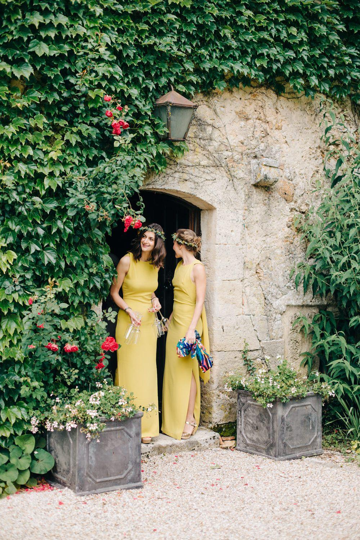 Hermione de paula wedding dress for a destination wedding at chateau