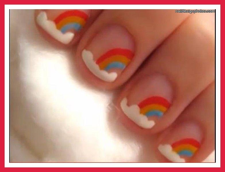 Nail Art Designs For Beginners   easy nail art designs for short ...