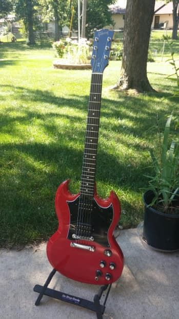 Gibson SG Special 1997 Ferrari Red with Deluxe Hardshell