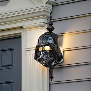 Darth Vader Porch Light Cover Geek Decor Star Wars Room Star Wars Awesome Porch Light Covers