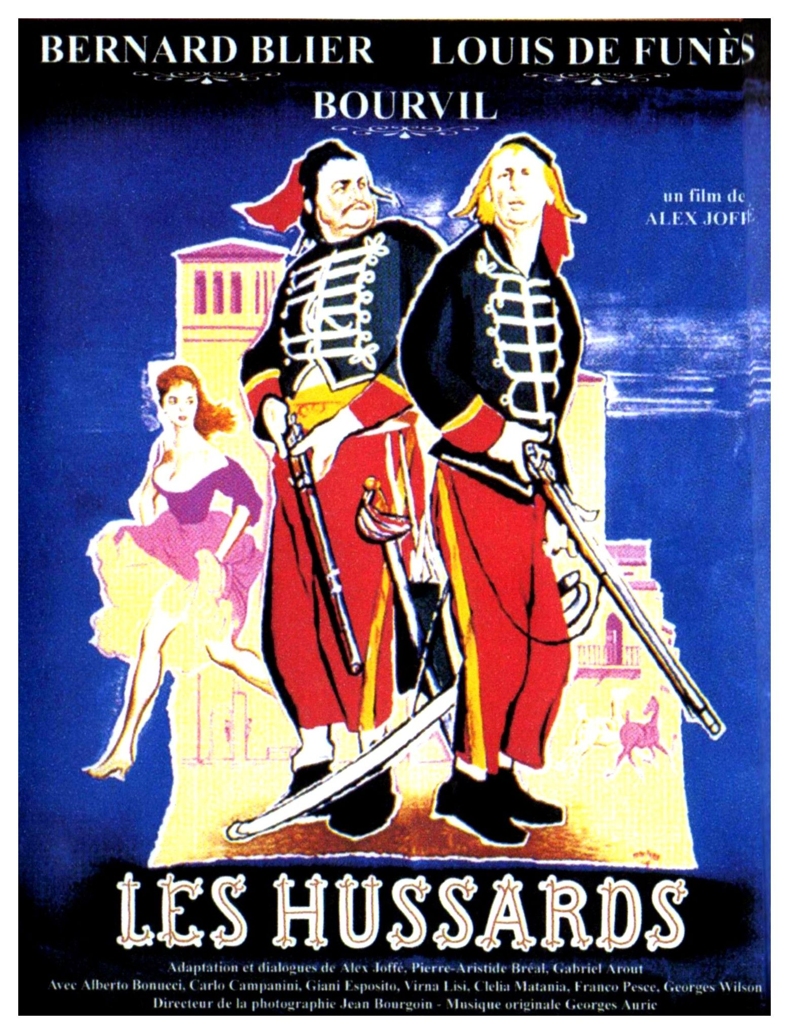 Fripouillard Louis De Funes vintage Movie poster print