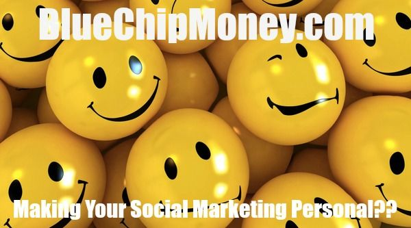 Millennium 7 Publishing Co.:  Making your social marketing personal??