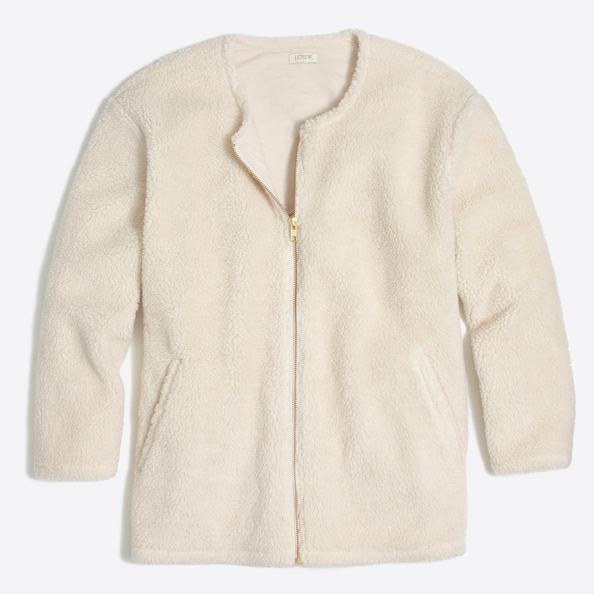 4fad3bcdc Sherpa bomber jacket : FactoryWomen Jackets & Blazers | FALL/WINTER ...