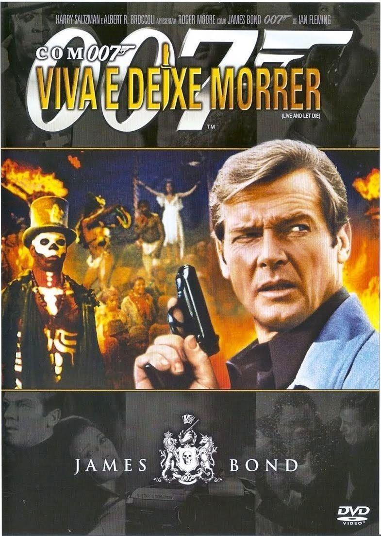 007 Com 007 Viva E Deixe Morrer Filmes 007