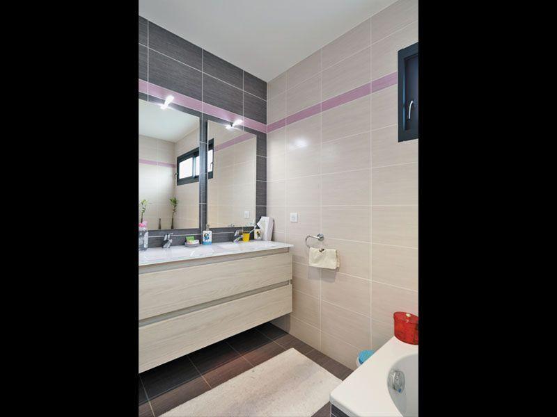 Maison contemporaine et design  salle de bain Maisons design
