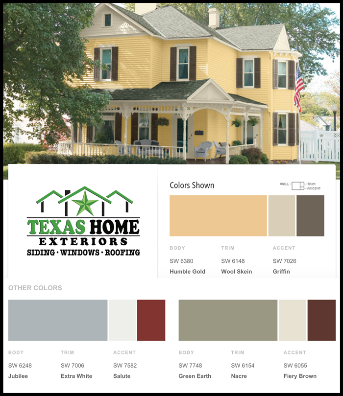 Home Paint Color ideas for homeowners for exterior paint options ...