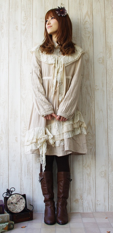 mori girl outfit love the angle of the ruffles fashions rh pinterest ca shabby chic style baby clothes