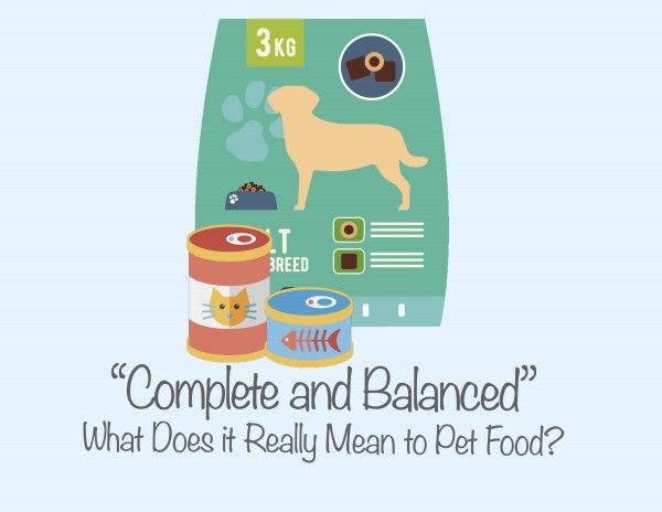 What does complete and balanced mean?