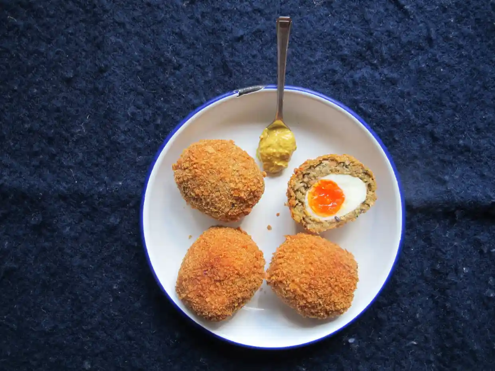 How to make the perfect vegetarian scotch eggs