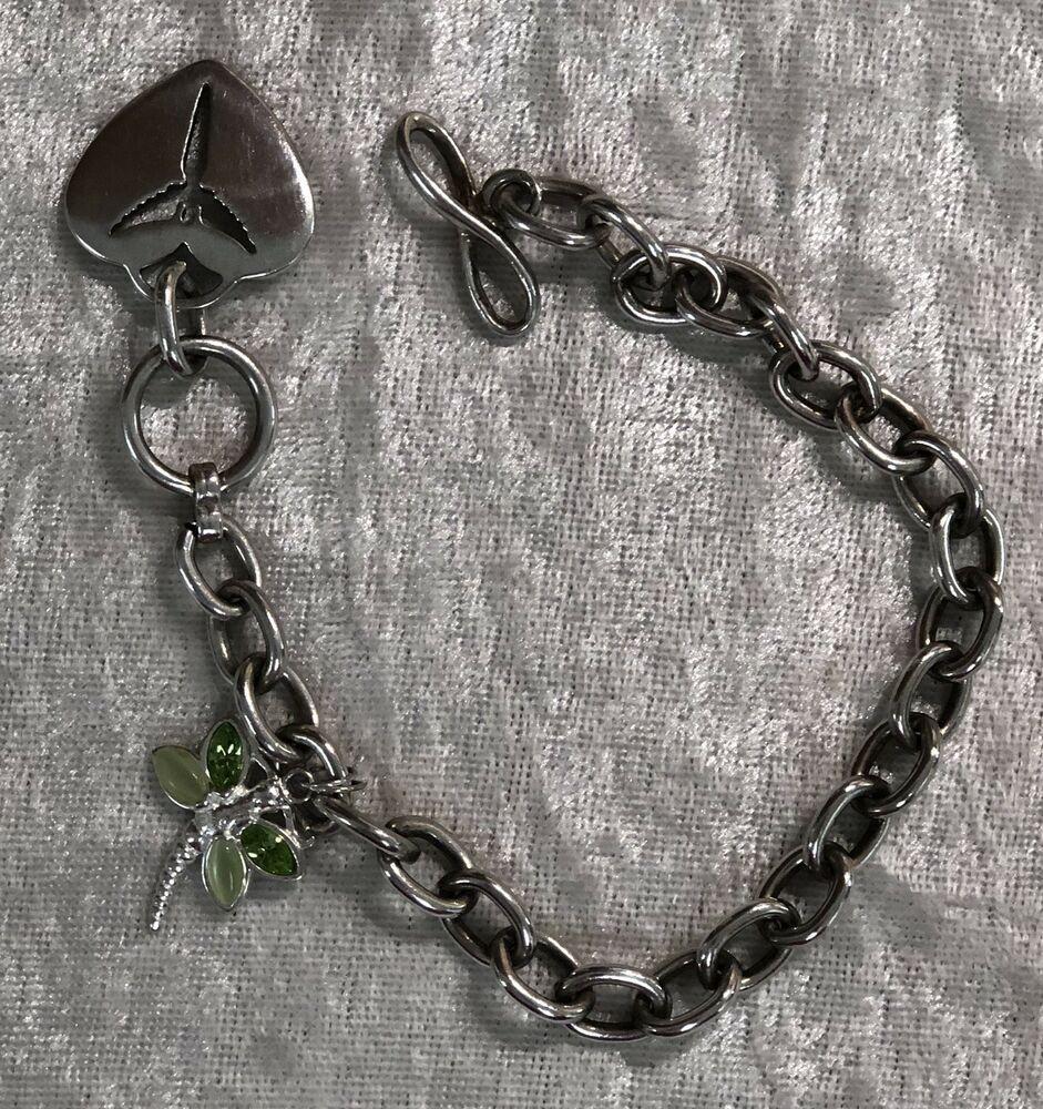 ede1cb63a 925 Sterling Silver LENAGGI Toggle Bracelet | eBay | Silver in 2019 ...