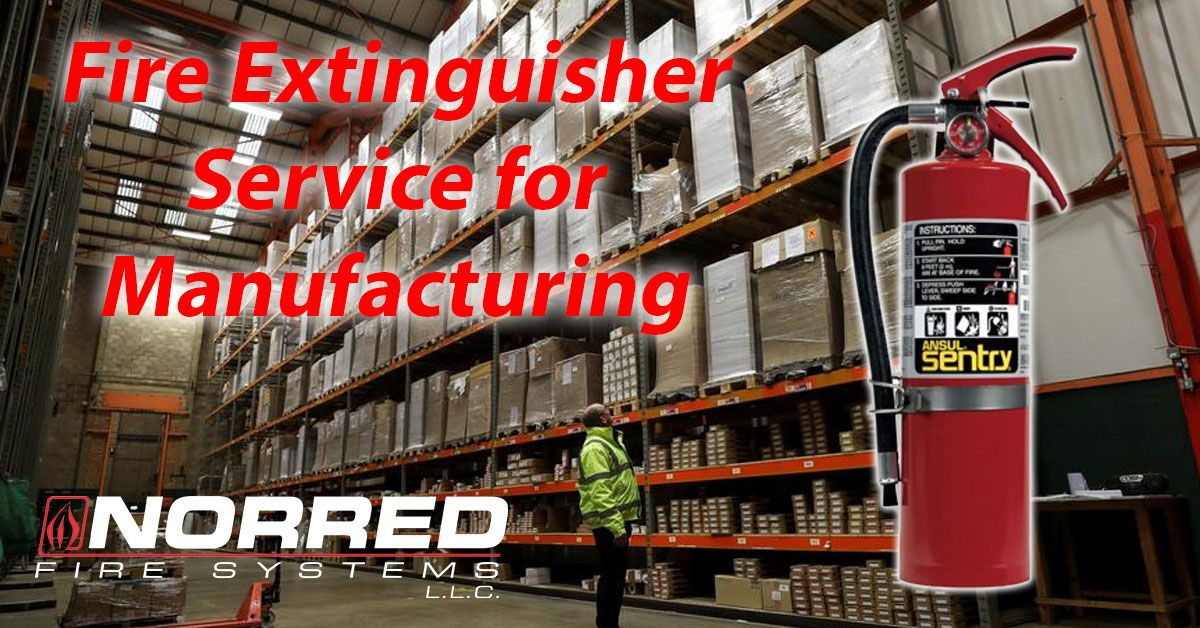 Fire extinguisher service for local louisiana