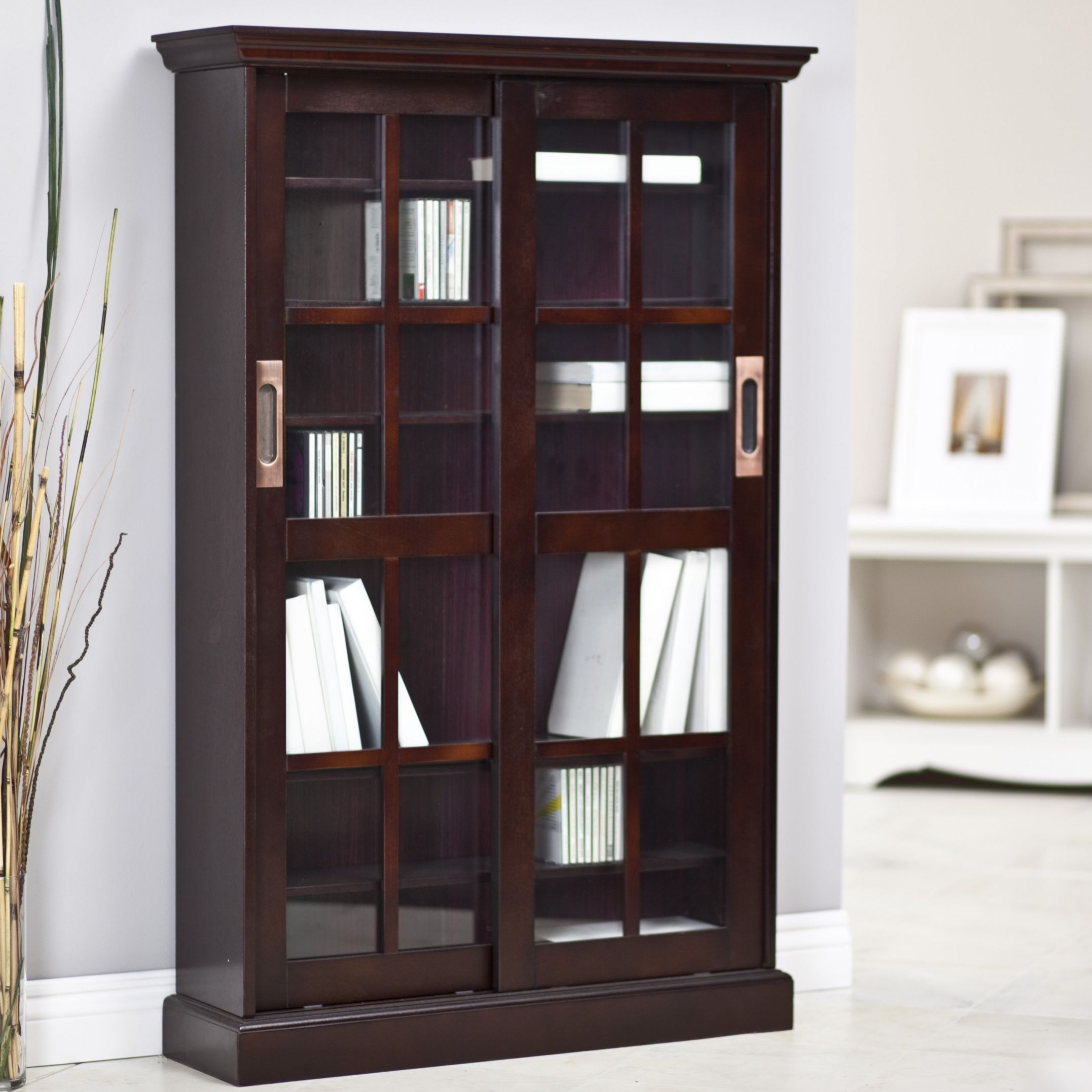 Dvd Storage Cabinet With Sliding Glass Doors | http ...